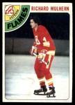 1978 Topps #256  Richard Mulhern  Front Thumbnail