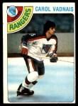 1978 Topps #85  Carol Vadnais  Front Thumbnail