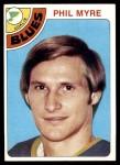 1978 Topps #87  Phil Myre  Front Thumbnail
