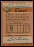 1978 Topps #131  Bob Dailey  Back Thumbnail