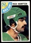 1978 Topps #174  Rick Hampton  Front Thumbnail