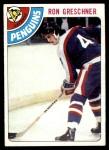 1978 Topps #154  Ron Greschner  Front Thumbnail