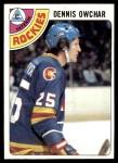 1978 Topps #19  Dennis Owchar  Front Thumbnail