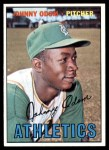 1967 Topps #282  Blue Moon Odom  Front Thumbnail