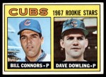 1967 Topps #272   -  Bill Connors / Dave Dowling Cubs Rookies Front Thumbnail