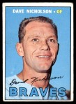 1967 Topps #113  Dave Nicholson  Front Thumbnail
