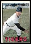 1967 Topps #13  Joe Sparma  Front Thumbnail