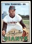 1967 Topps #177  Tito Fuentes  Front Thumbnail