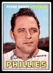 1967 Topps #187  Pedro Ramos  Front Thumbnail