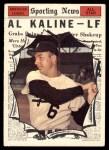 1961 Topps #580   -  Al Kaline All-Star Front Thumbnail