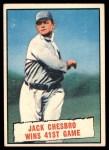 1961 Topps #407   -  Jack Chesbro Baseball Thrills Front Thumbnail