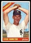 1966 Topps #503  Steve Hamilton  Front Thumbnail