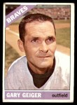 1966 Topps #286  Gary Geiger  Front Thumbnail