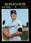 1971 Topps #306 ERR Jim Nash  Front Thumbnail
