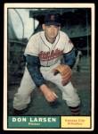 1961 Topps #177  Don Larsen  Front Thumbnail