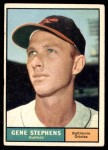 1961 Topps #102  Gene Stephens  Front Thumbnail