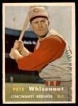 1957 Topps #373  Pete Whisenant  Front Thumbnail