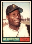 1961 Topps #82  Joe Christopher  Front Thumbnail