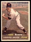1957 Topps #50  Herb Score  Front Thumbnail