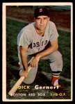1957 Topps #202  Dick Gernert  Front Thumbnail