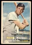 1957 Topps #92  Mickey Vernon  Front Thumbnail