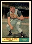 1961 Topps #400  Vern Law  Front Thumbnail