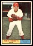 1961 Topps #20  Robin Roberts  Front Thumbnail