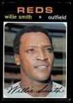 1971 Topps #457  Willie Smith  Front Thumbnail