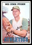 1967 Topps #74  Wes Stock  Front Thumbnail