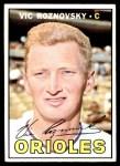1967 Topps #163  Vic Roznovsky  Front Thumbnail