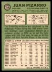 1967 Topps #602  Juan Pizarro  Back Thumbnail