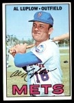 1967 Topps #433  Al Luplow  Front Thumbnail