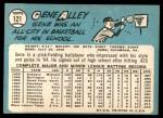 1965 Topps #121  Gene Alley  Back Thumbnail