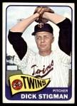 1965 Topps #548  Dick Stigman  Front Thumbnail
