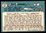 1965 Topps #527  Jeff Torborg  Back Thumbnail