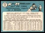 1965 Topps #479  Ken Harrelson  Back Thumbnail
