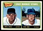 1965 Topps #466   -  Pete Craig / Dick Nen Senators Rookies Front Thumbnail