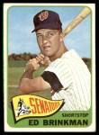 1965 Topps #417  Ed Brinkman  Front Thumbnail