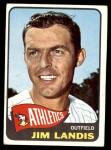 1965 Topps #376  Jim Landis  Front Thumbnail