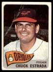 1965 Topps #378  Chuck Estrada  Front Thumbnail
