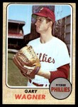 1968 Topps #448  Gary Wagner  Front Thumbnail