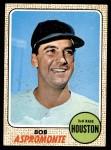 1968 Topps #95  Bob Aspromonte  Front Thumbnail