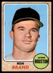 1968 Topps #317  Ron Brand  Front Thumbnail