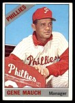 1966 Topps #411  Gene Mauch  Front Thumbnail