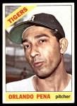 1966 Topps #239  Orlando Pena  Front Thumbnail