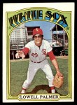 1972 Topps #746  Lowell Palmer  Front Thumbnail