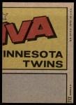 1972 Topps #712   -  Bobby Bonds In Action Back Thumbnail