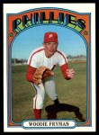 1972 Topps #357  Woodie Fryman  Front Thumbnail