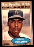 1962 Topps #397   -  John Roseboro All-Star Front Thumbnail