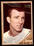 1962 Topps #501  Claude Osteen  Front Thumbnail